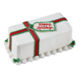 Holiday Gift Cake