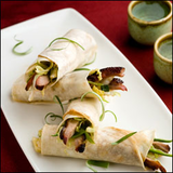 Mu Shu Duck Wraps