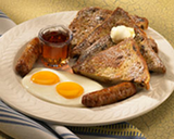Cinnamon Raisin French Toast Breakfast