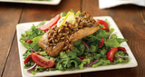 Honey Pecan Salmon Salad