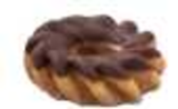 Chocolate Iced Glazed Cruller