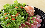 Seared Ahi Tuna Sashimi Salad