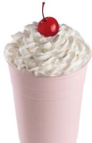 Strawberry Ice Cream Shake
