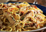 Cajun Chicken Linguini Alfredo