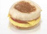 Ham, Egg & Cheese On English Muffin