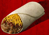 1/2 Lb. Bean & Cheese Burrito
