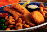 Classic Fried Seafood Platter