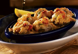 Lobster, Crab And Seafood-stuffed Mushrooms
