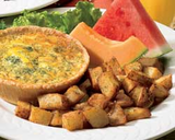 Cafe Breakfast Quiche