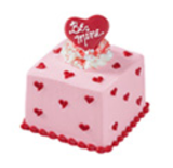 """be Mine"" Mini Valentine Cake"