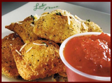 Spicy Toasted Ravioli