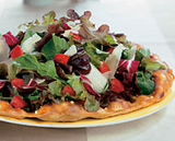 Tricolore Salad Pizza