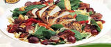 Grilled Chicken & Spinach Salad