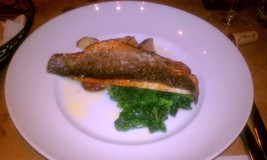 Pan Seared Branzino Filet