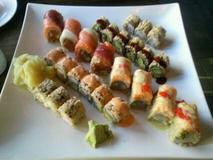 Lovely Roll, Boston Roll, Tiffany Roll, Eel Avocado & Spicy California Roll