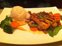 Grilled And Teriyaki Salmon