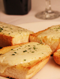 Garlic Bread With Mozzarella Cheese