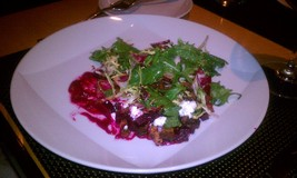 Warm Autumn Beets And Goat Cheese