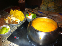 Fiesta Cheese Fondue